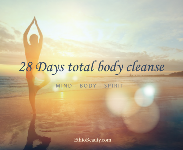 My 28 Days total body cleanse