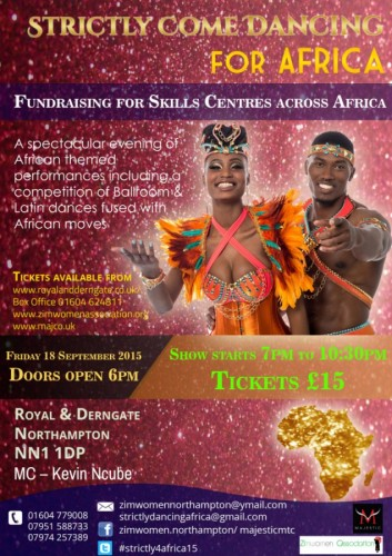 Strictly Come Dancing for Africa  - 18.09.15
