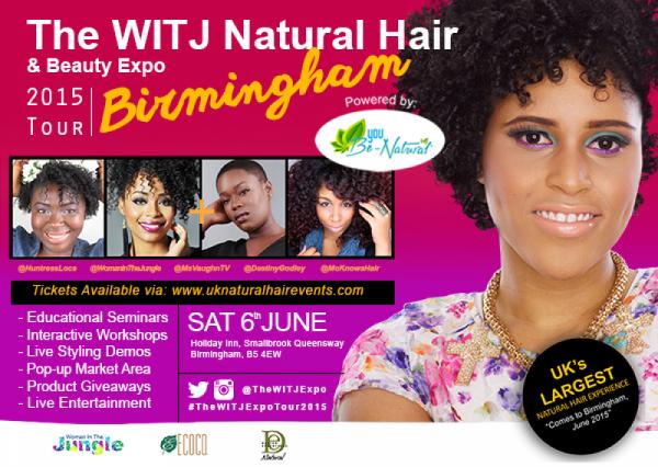 The WITJ Natural Hair & Beauty Expo Birmingham 2015 - 06.06.15