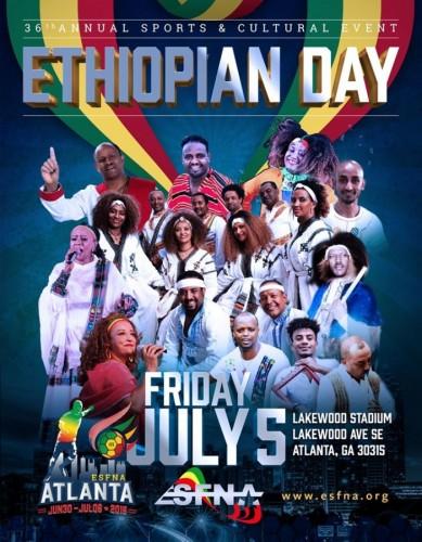 Ethiopia Day At ESFNA 2019