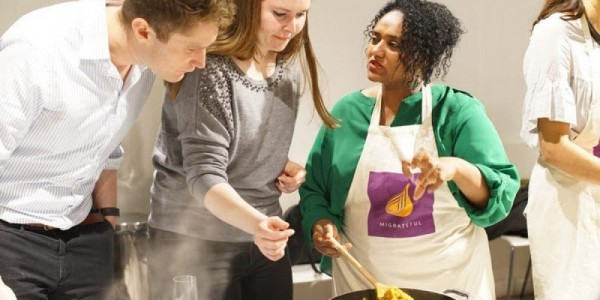 Vegan Ethiopian Cookery Class with Woin at The Duke of Cambridge October 2019