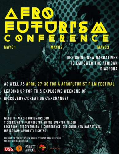 Afro Futurism Conference - 01-03.05.15