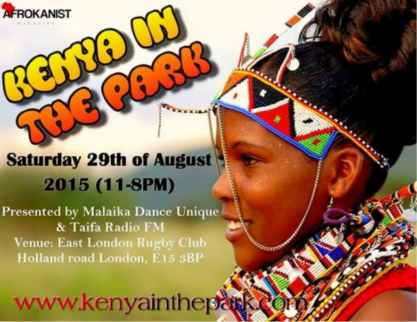 Kenya In The Park - 29.08.15