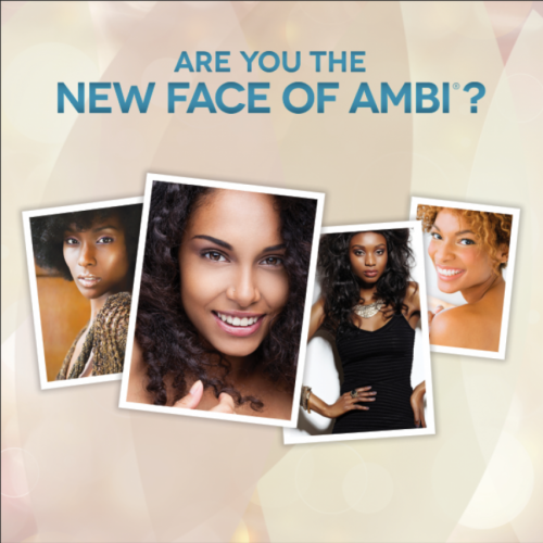 AMBI(®) Skincare Model Search.