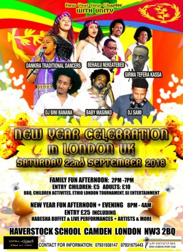 New Year Celebration in London