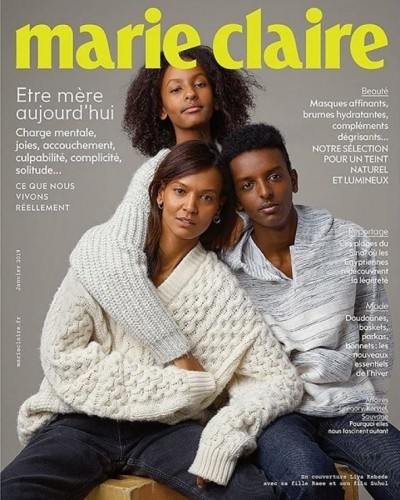 Liya Kebede Covers Marie Claire France