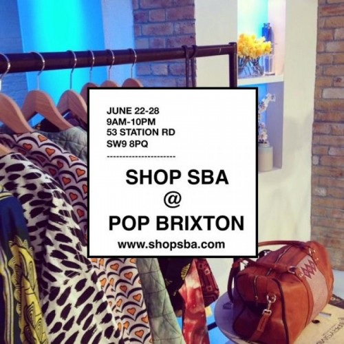 Styled By Africa At Pop Brixton - 22-28.06.15
