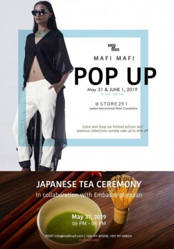 Mafi Mafi Pop Up Sale
