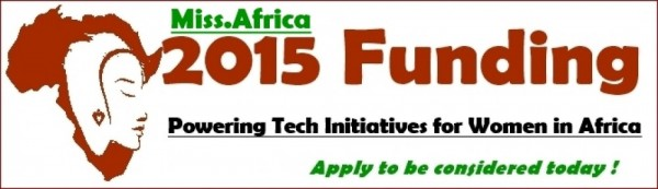 Apply: Miss Africa 2015 Seed Funding