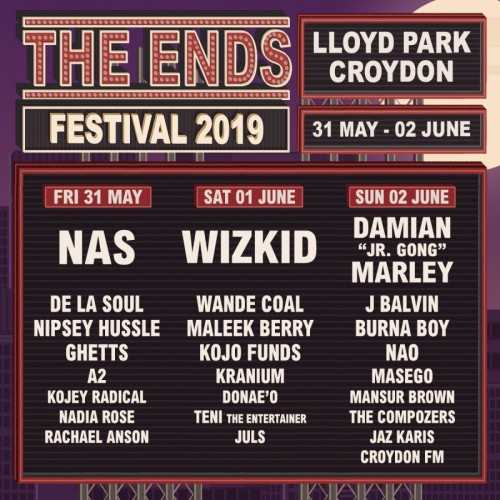 Nipsey Hussle Live at The Ends Festival UK
