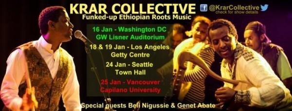 Krar Collective USA & Canada Tour January 2014
